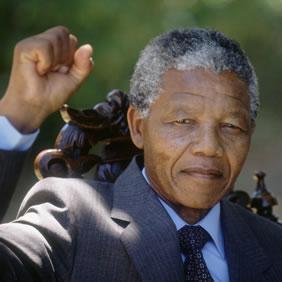 Le Président MANDELA