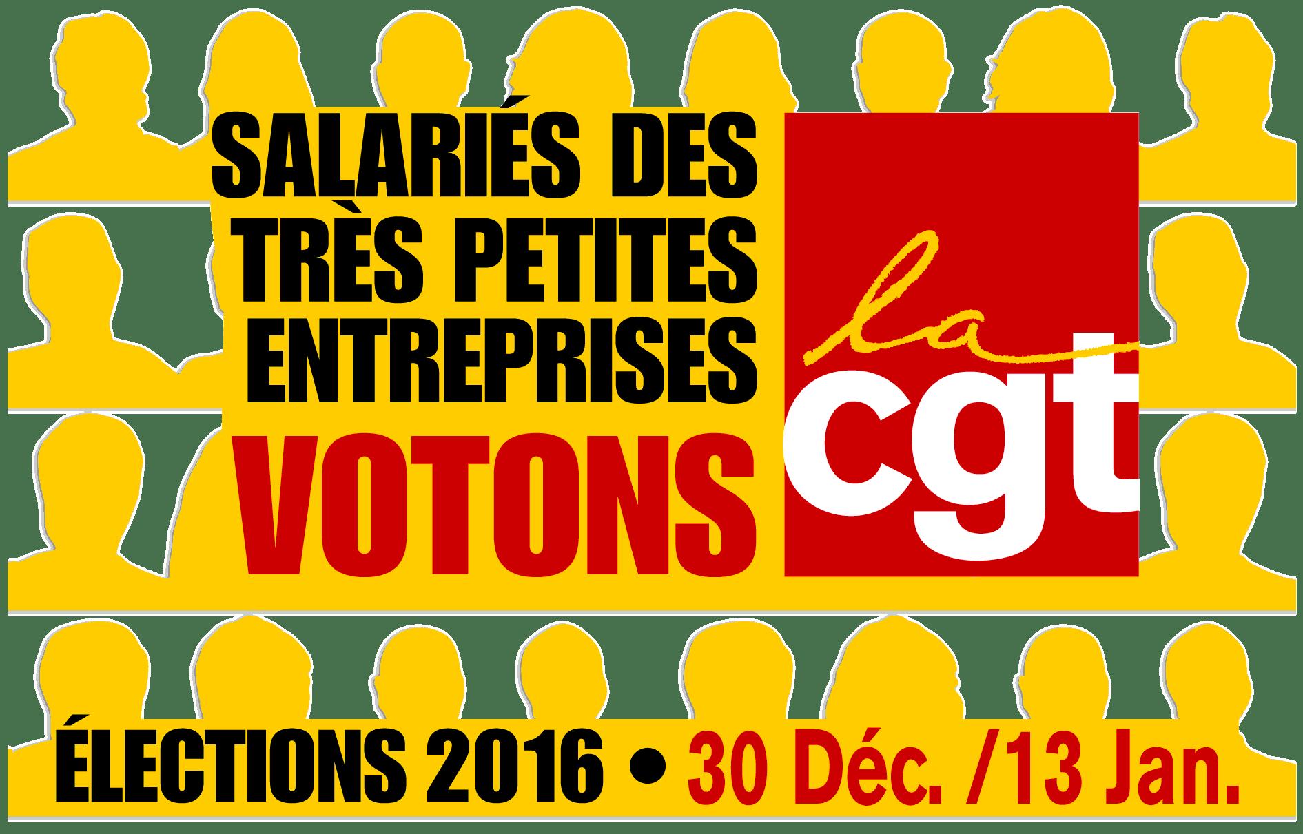 Élections TPE jusqu'au 13 janvier