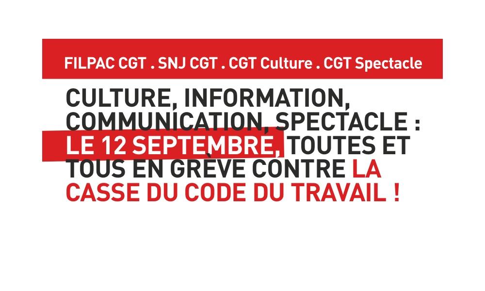 Loi Travail XXL: Infos Manifestations 12 Septembre