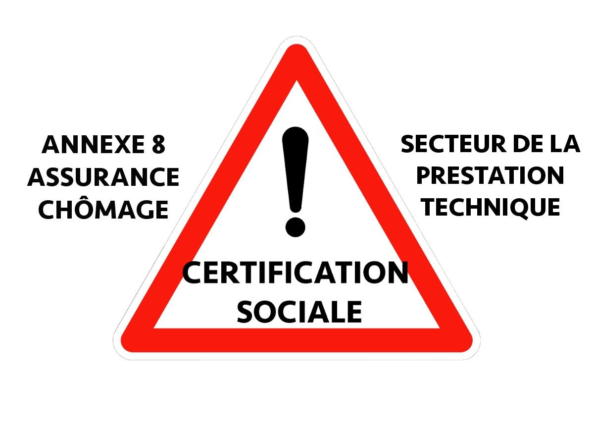 NON À LA « CERTIFICATION SOCIALE »