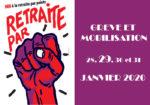 Mercredi 29 janvier : Nouvelle journée de mobilisations