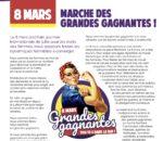 Dimanche 8 mars : Journée internationale pour les droits des femmes