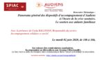 Mardi 02 juin – Webinar Spiac/Audiens : Panorama des dispositifs d'accompagnement d'Audiens