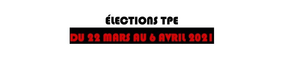 Élections TPE, voter c'est essentiel…