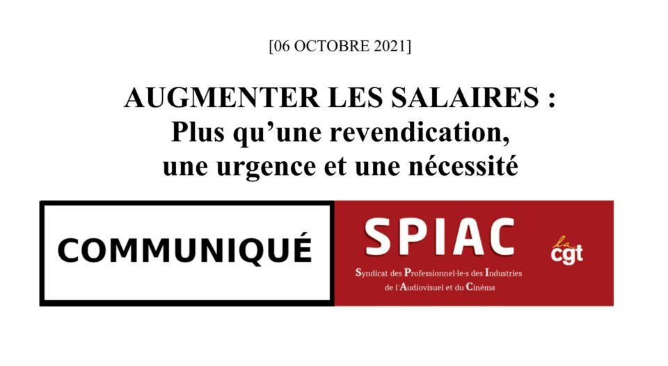 Augmenter les salaires: plus qu'une revendication,  une urgence et une nécessité!